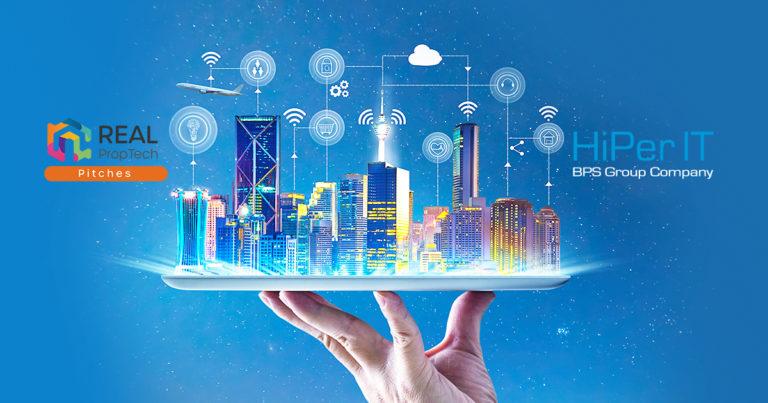HiPerWare, die von HiPer IT entwickelte industrielle IoT-Plattform, erstmals bei den REAL PropTech Pitches 2021 vorgestellt